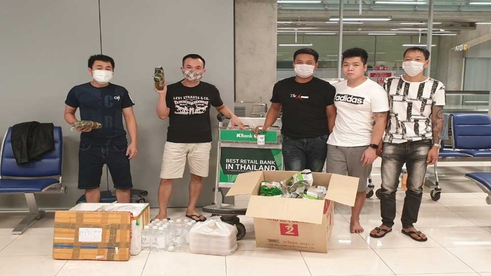 Hỗ trợ công dân Việt Nam bị mắc kẹt tại sân bay quốc tế Survanabhumi của Thái Lan